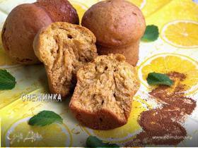 Тыквенно-коричные кексы с ароматом лимона