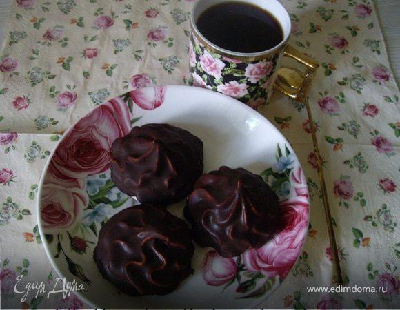 Зефир малиновый в шоколаде