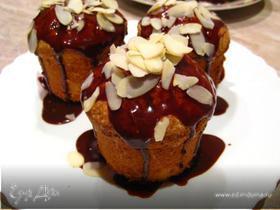 Сливочные пирожные с шоколадом