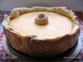 Пирог тыквенный с медом, апельсином и орешками