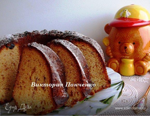 Пряный медовый кекс