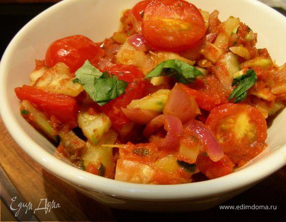 Рататуй с вялеными томатами