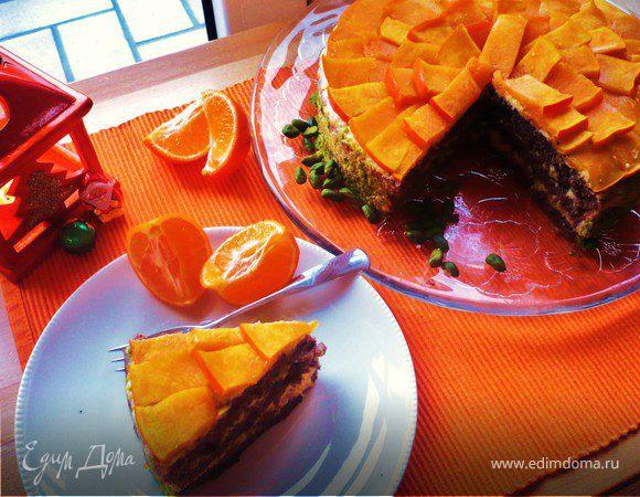 """Торт """"Оранжевое настроение"""""""