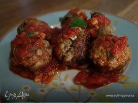 Мясные тефтельки в томатном соусе