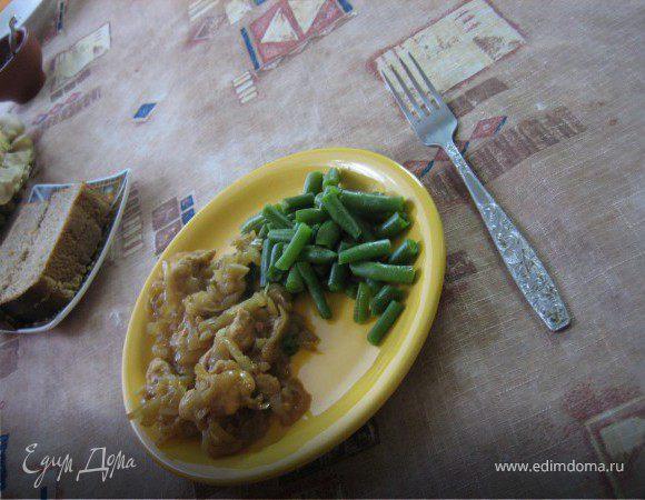 Куриные грудки в кефире или соевом соусе
