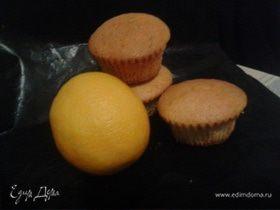Маффины апельсиновые, простейшие