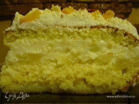 Легкий тортик (Pina Colada)