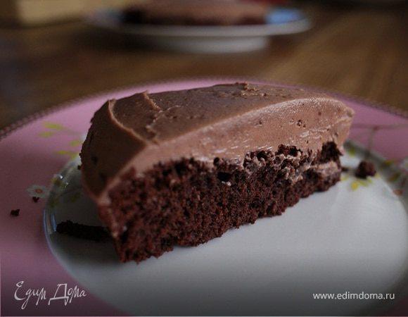 Очень шоколадный пирог