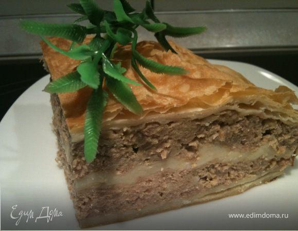 Эльзасский мясной пирог