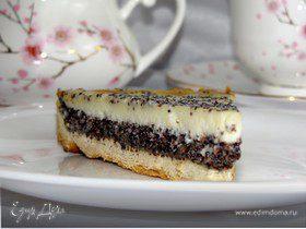Маковый пирог со сметаной