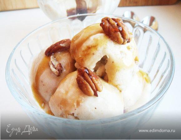 Легкое банановое мороженое с кленовым сиропом