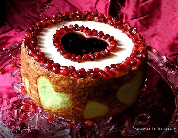 "Торт ""Гранатовое сердце"""