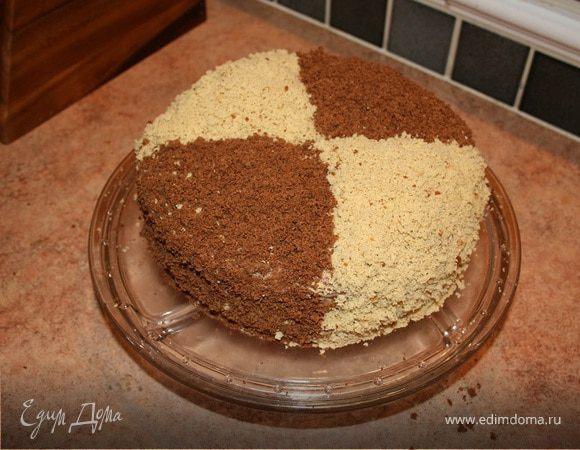 """Нежный бисквитный торт """"Кудряш"""""""
