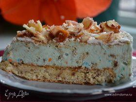 Миндальный хрустящий торт-мороженое