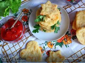 Картофельные галеты с сыром