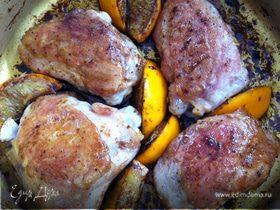 бальзамическая курица c апельсином