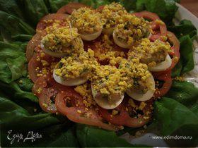 Фаршированные яйца «Мимоза»