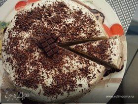Сладкий блинный торт