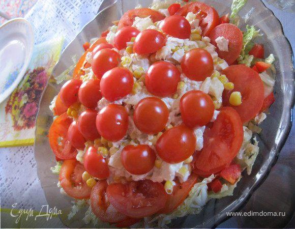 Африканская роза салат