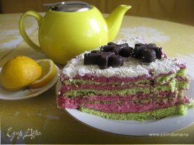 Торт Ягодно-ореховый
