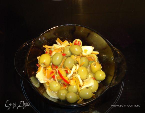 Оливки маринованные (закуска)