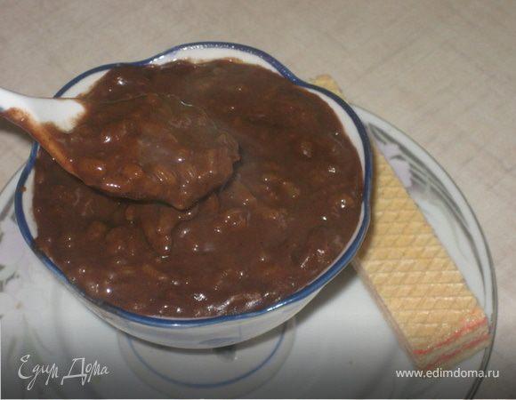 """Шоколадный рисовый пудинг """"Черные ночи"""""""