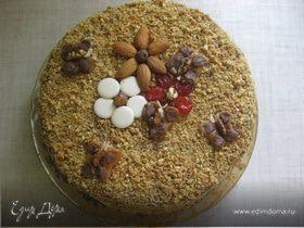 Торт «Медовая поляна»