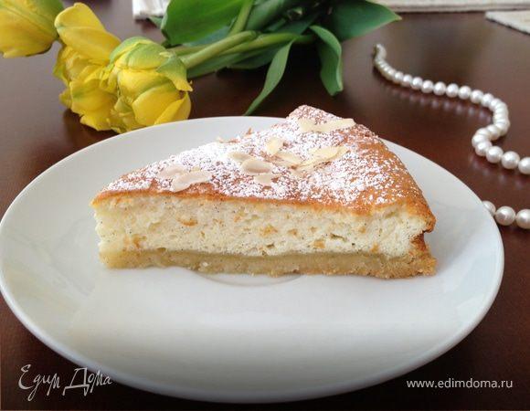 Голландский творожно-лимонный тарт (Kwarktaart)