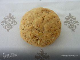 Овсяно-кокосовое печенье с лаймом