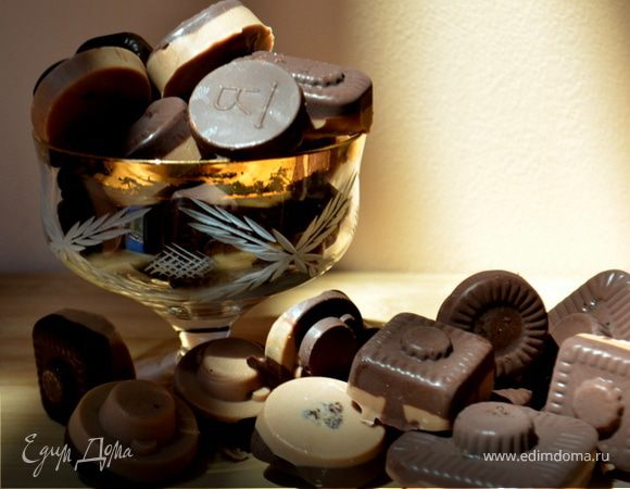 Шоколадные конфеты по-домашнему