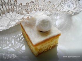 Имбирно-лаймовые пирожные