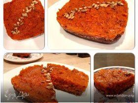 Тыквенный пирог (сырой)