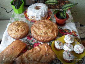 Куличи к светлому празднику Пасха