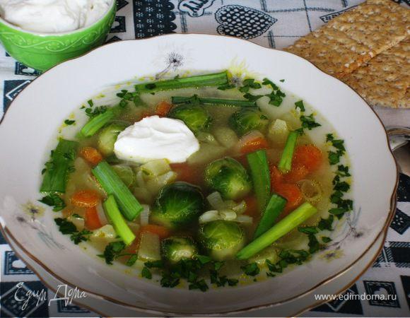 Легкий овощной супчик