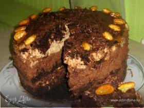 """Торт """"Шоколадное капучино"""""""