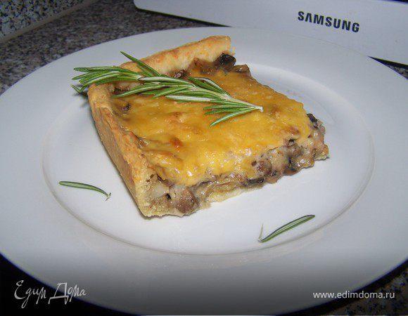 """Закусочный пирог-вариация на тему """"Жюльен"""""""