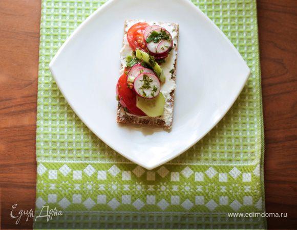 Весенний Бутерброд, или новый взгляд на салат