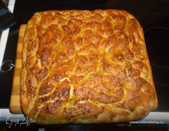 Хлеб с оливками и апельсиновой цедрой