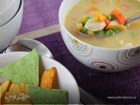 Куриный суп по-мексикански
