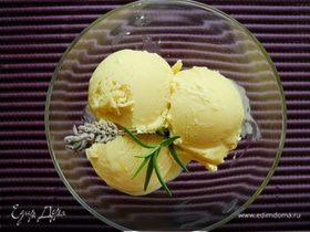 """Средиземноморское мороженое из оливкового масла (""""Вкус лета"""")"""