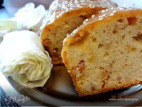 Нежный яблочный кекс с коричной пропиткой