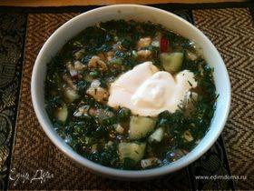 Окрошка - летний холодный суп