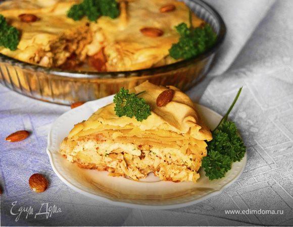 Бастийя с курицей (Chicken B'Stilla)