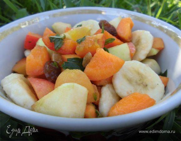 Летний фруктовый салат