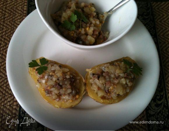 Быстрая закуска из картофеля и сельди