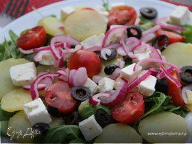 Средиземноморский картофельный салат
