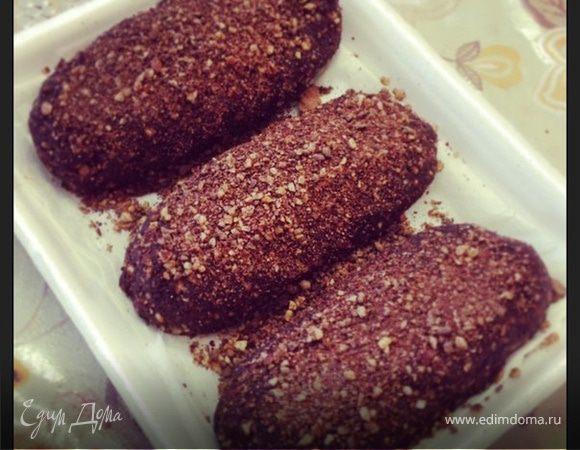 Сыроедные шоколадные эклеры