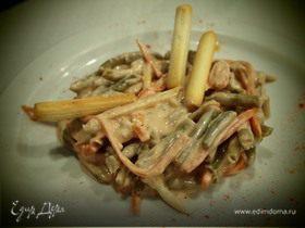 Овощной салат по испанским мотивам