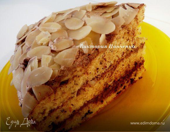 Ванильно-шоколадный бисквит