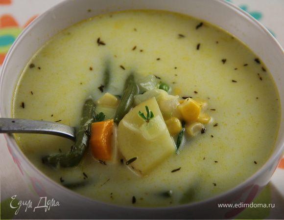 """Североамериканский овощной суп """"Суккоташ"""""""